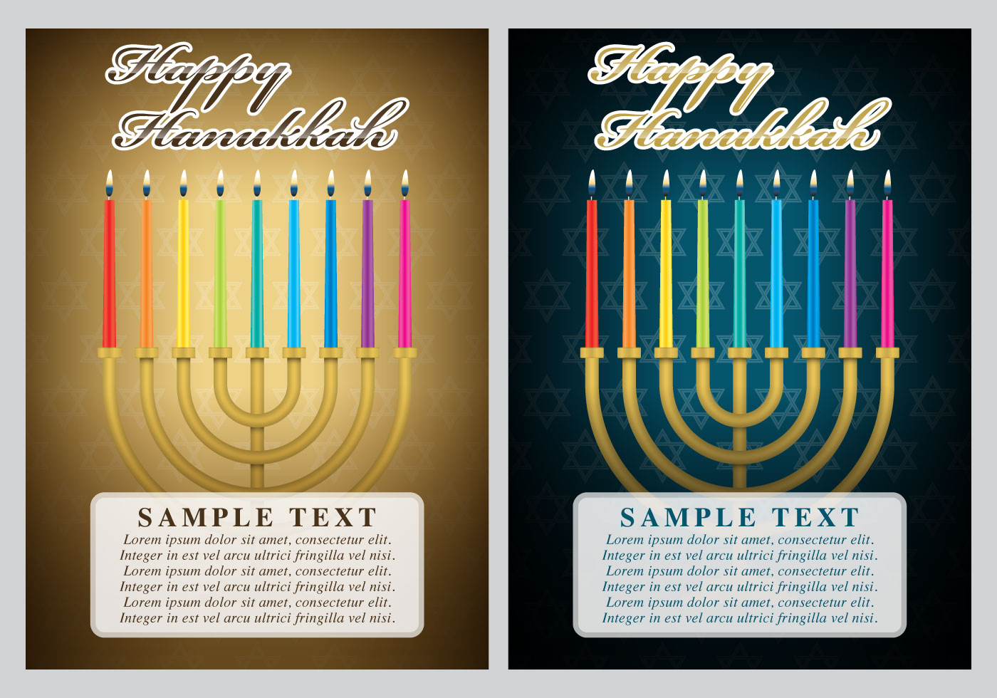 Hanukkah Cards Download Free Vector Art Stock Graphics Images