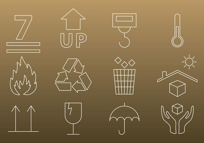 Packaging Thin Icons