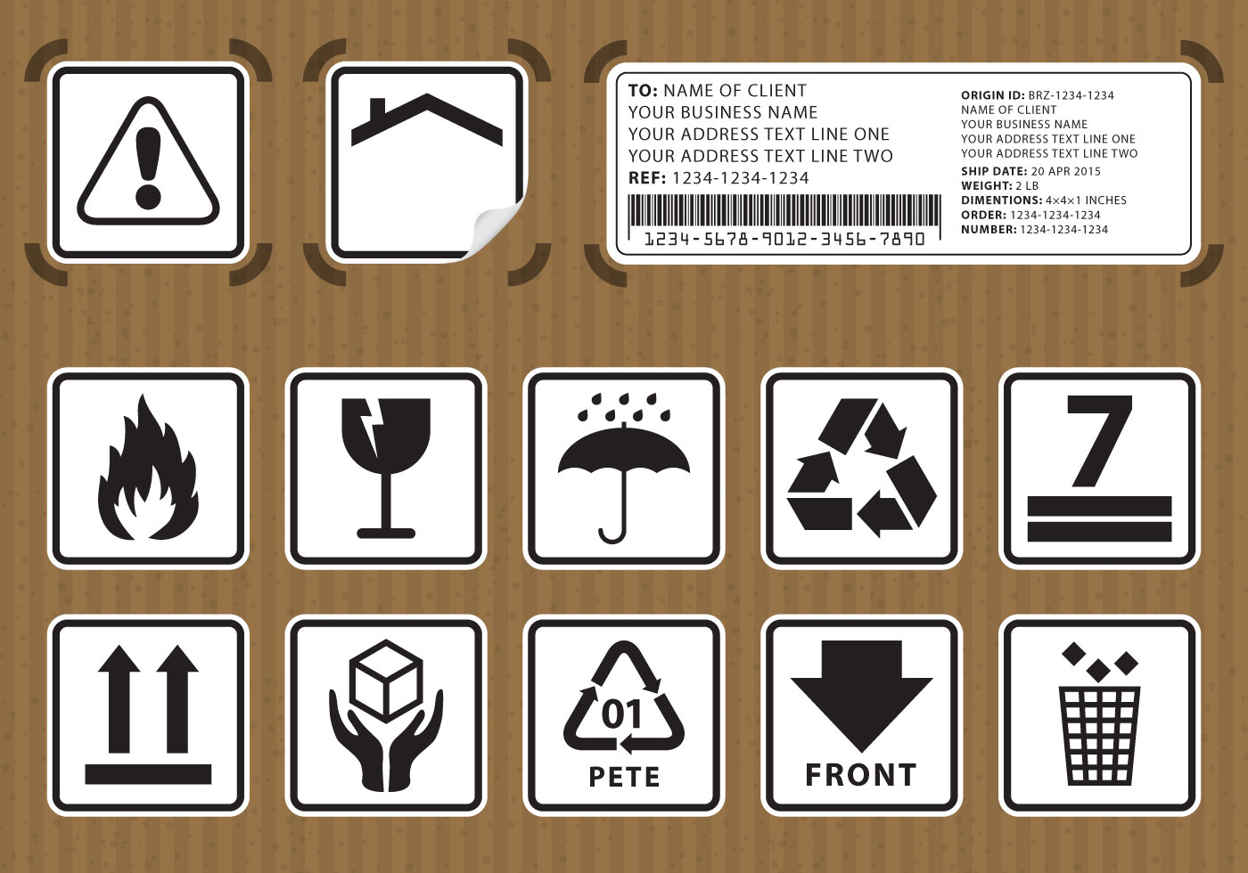 Packaging Symbols Free Vector Art 26600 Free Downloads