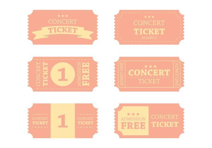Vintage Vintage Ticket Vector