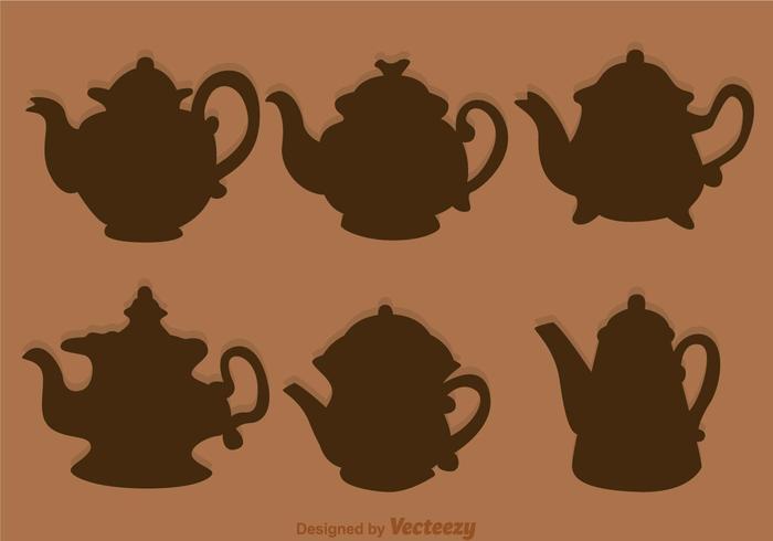 Arabic Coffee Pot Silhouette