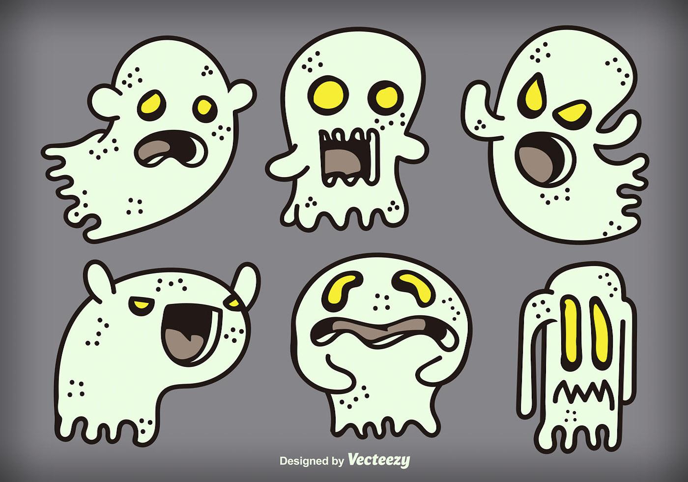 evil cartoon ghost - HD1400×980