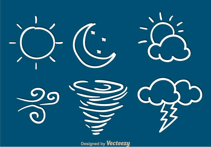 Weather Sketch Icons