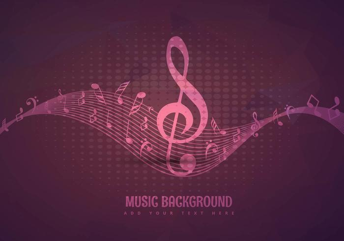 Music background design
