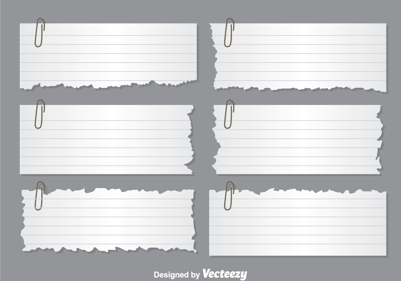 ripped paper note vectors - download free vector art, stock graphics