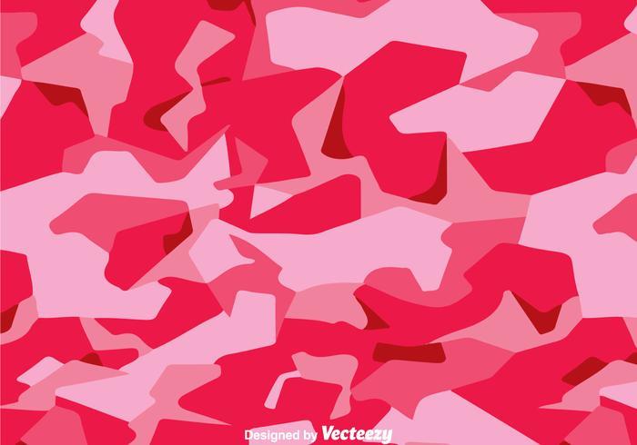 Fashion Pink Camo Vector