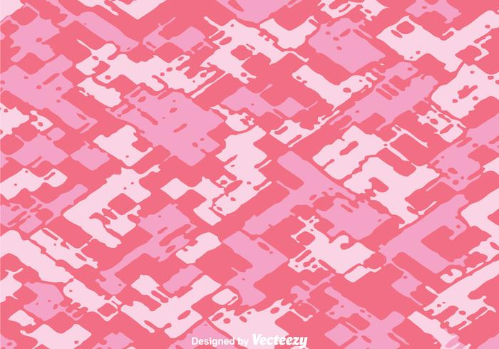 Vector Diagonal Abstract Pink Camo