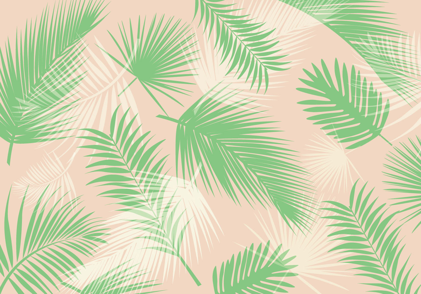 palm leaf pattern vector download free vector art stock graphics
