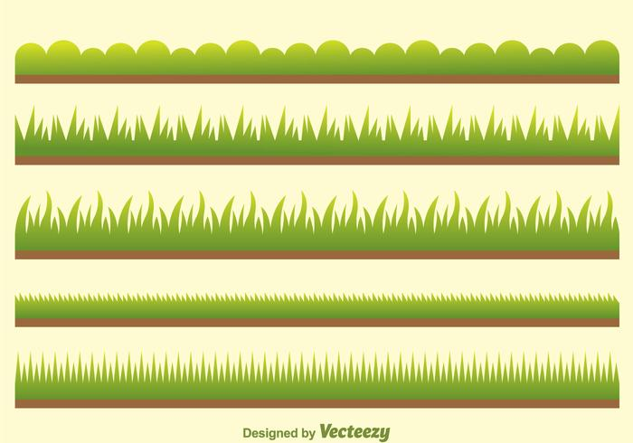 Vector Green Grass sul campo
