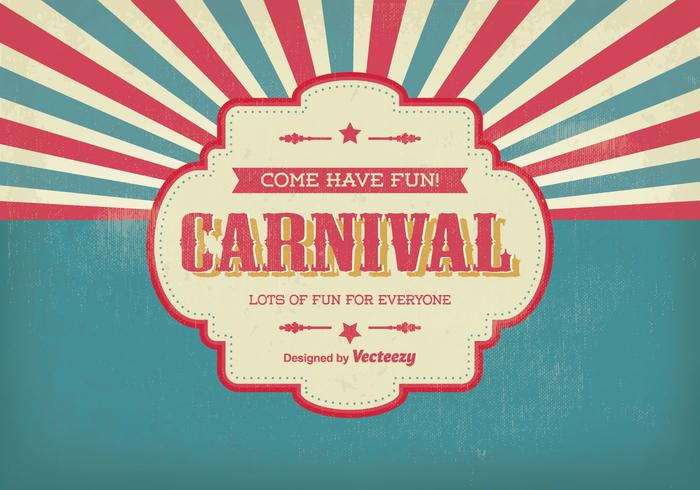 Vintage Carnival Illustration