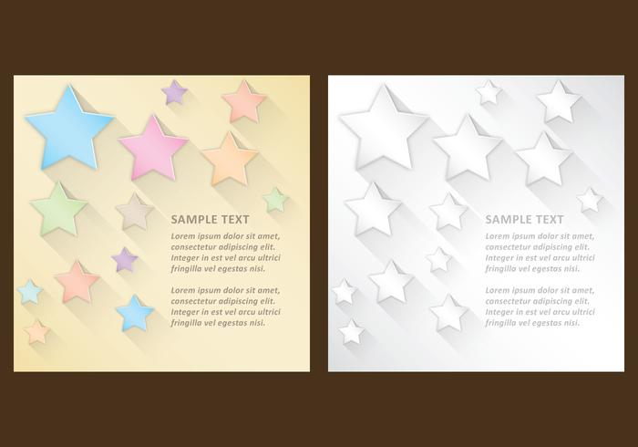 Stars With Shadows Templates
