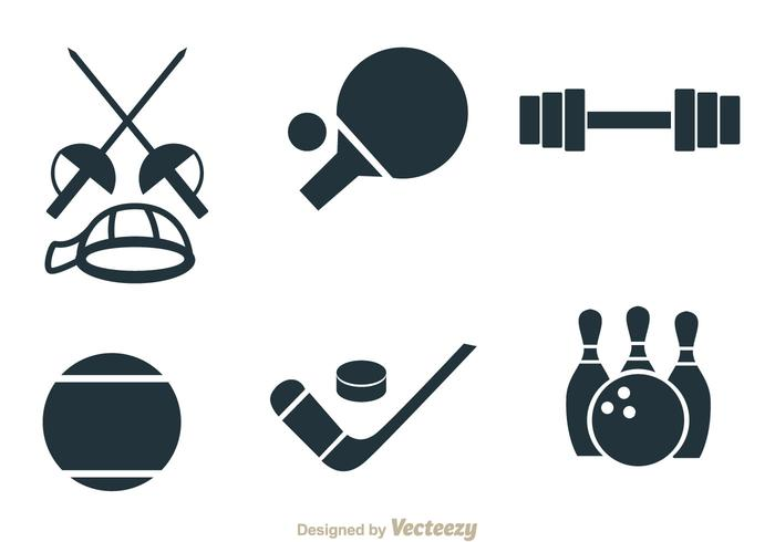 Sport Items Vectors