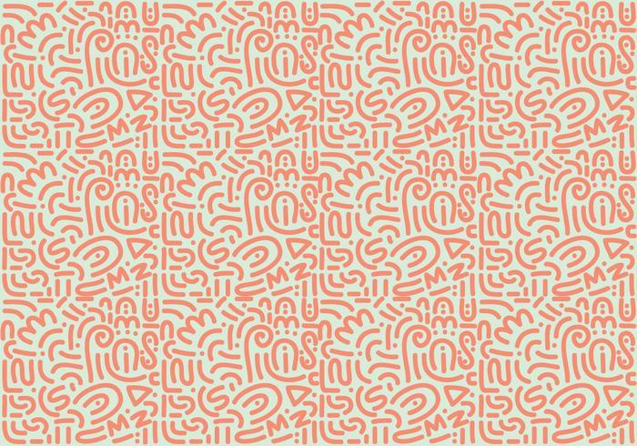 Abstrakt orange virvlar bakgrund