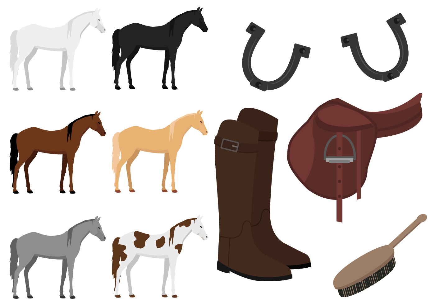 Free Horses Vector Download Free Vector Art Stock Graphics Amp Images