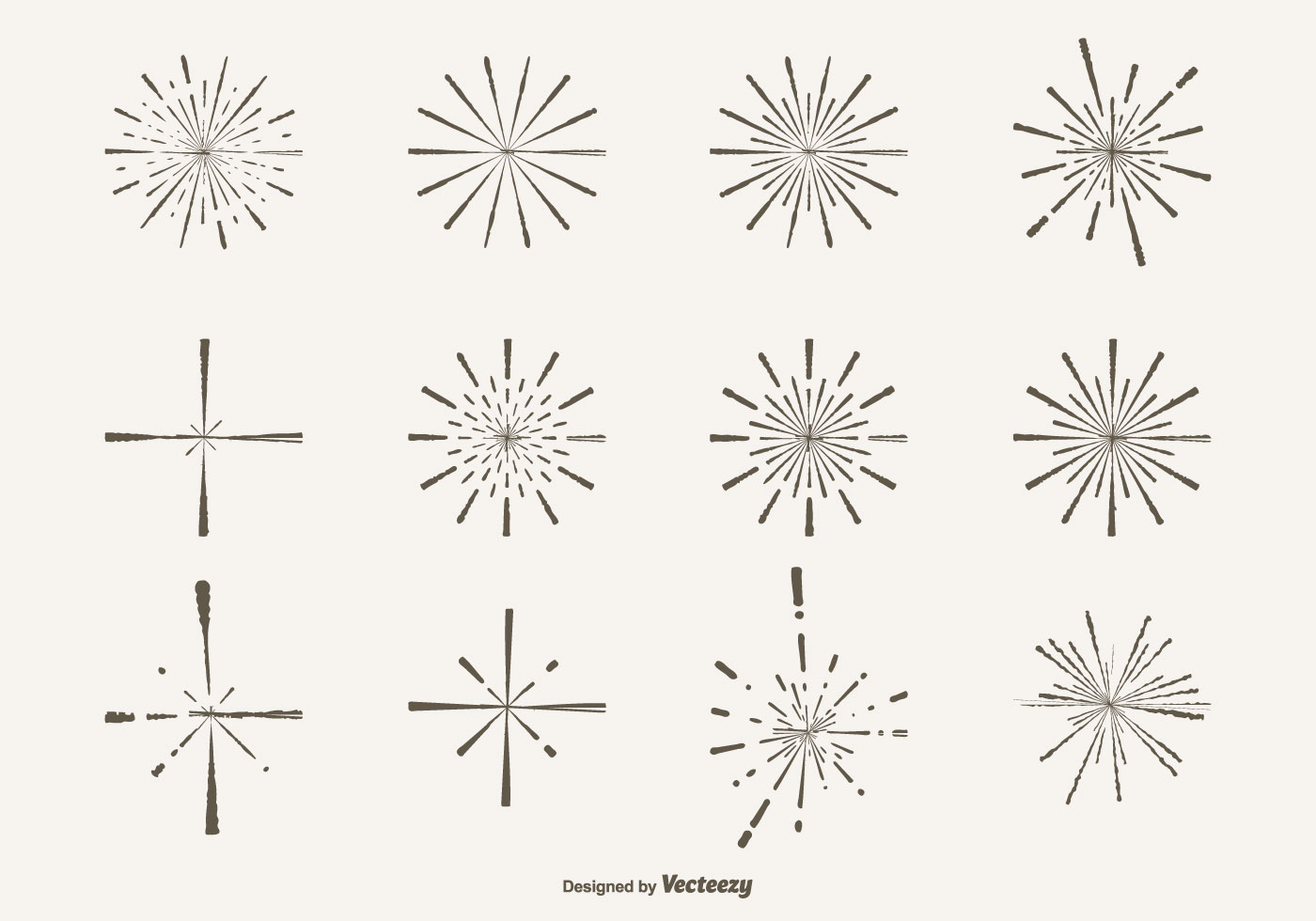 Hand drawn style sparkle shapes download free vector art - Sparkle and shine cartoon ...