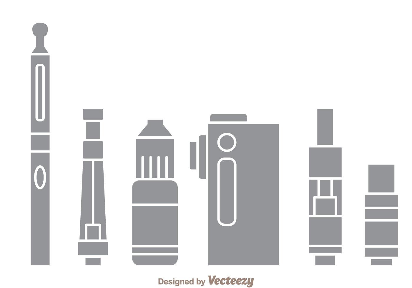 vape gray icons download free vector art stock graphics