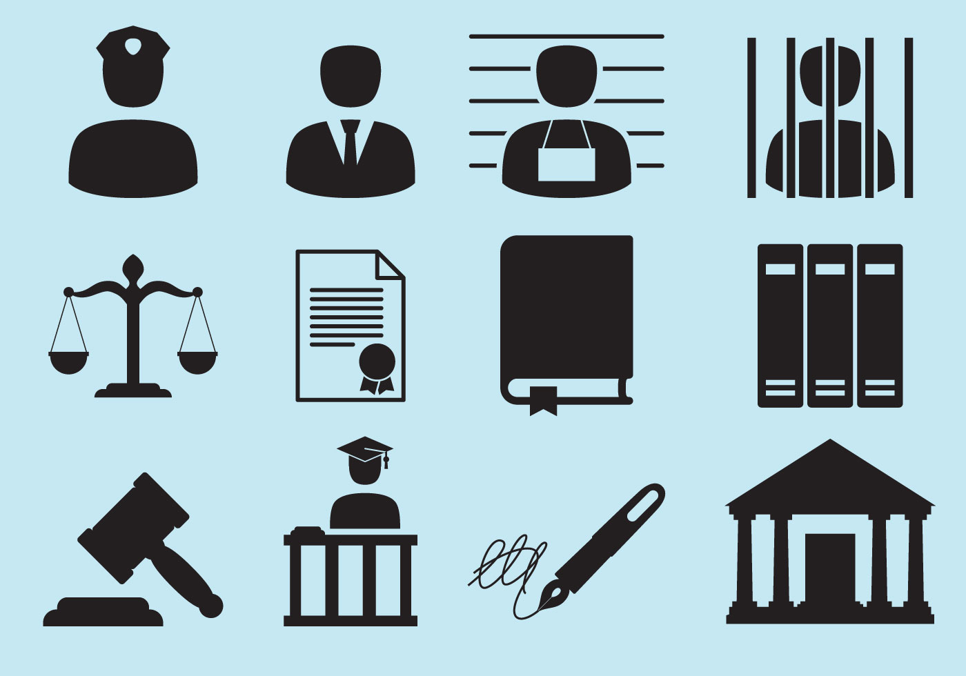 Law Icons - Download Free Vectors, Clipart Graphics ...
