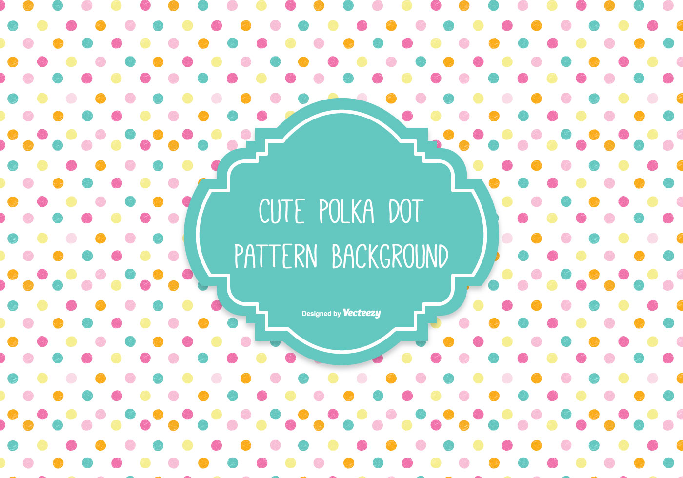 Colorful Polka Dot Background - Download Free Vectors ...