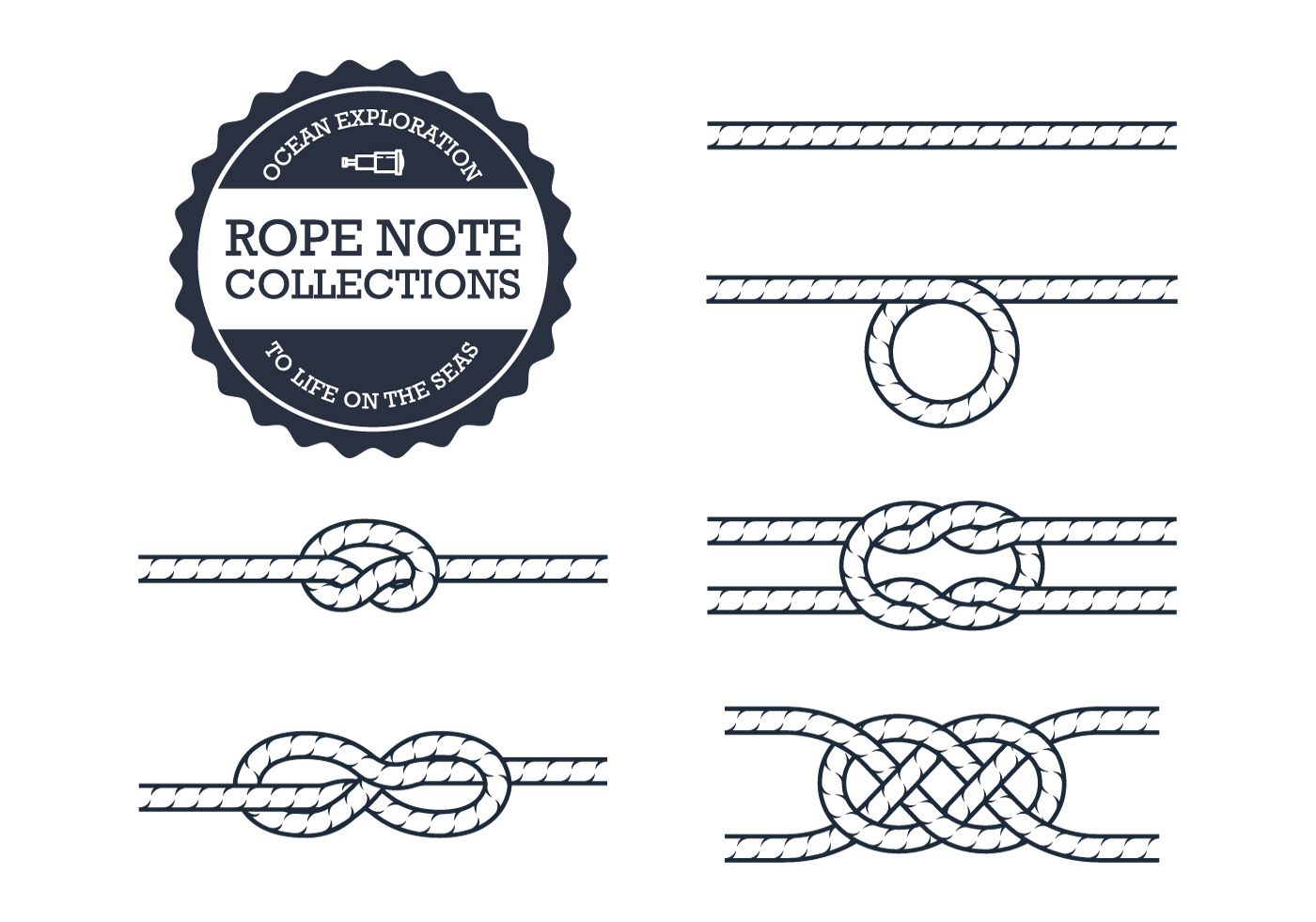 Rope Knot Collections Download Free Vectors Clipart
