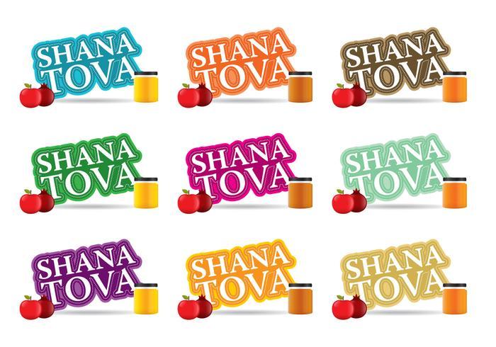 Shana Tova vector