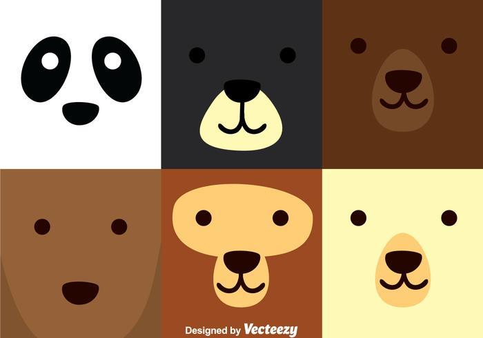 Bear Square Face