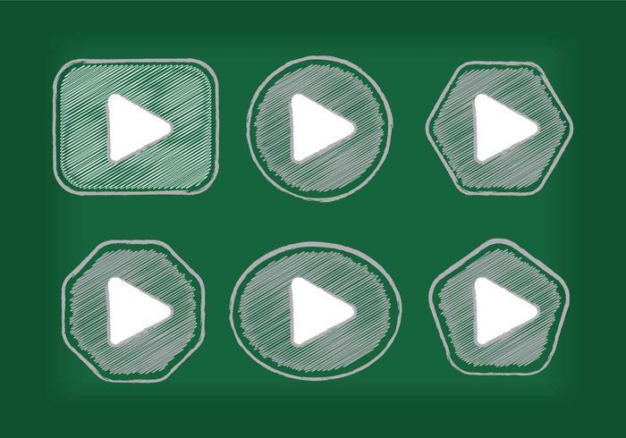 Play Button Icon Vectors