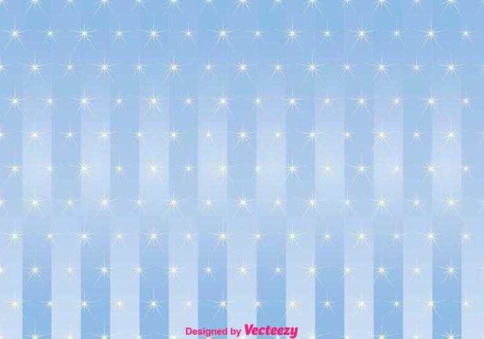 Shining Star Blue Background