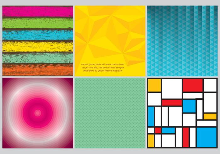 Colorful Backgrounds vector