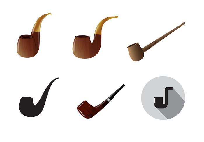 Free Tobacco Pipe Vector