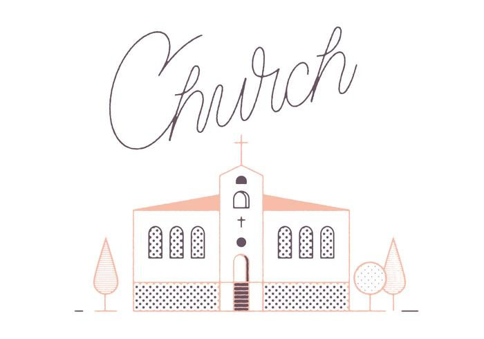 Free Church Vector