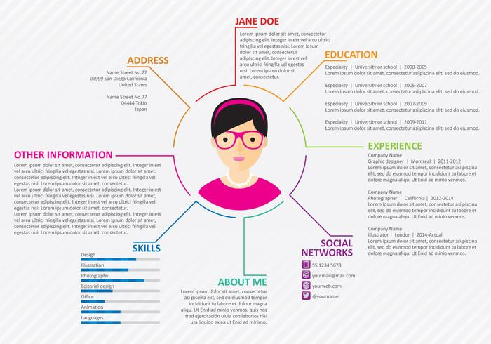 Web Curriculum vector
