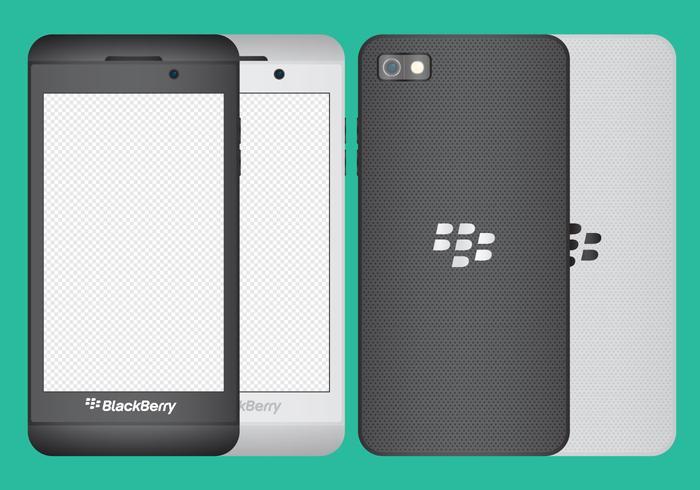 Blackberry Z10 Vectors