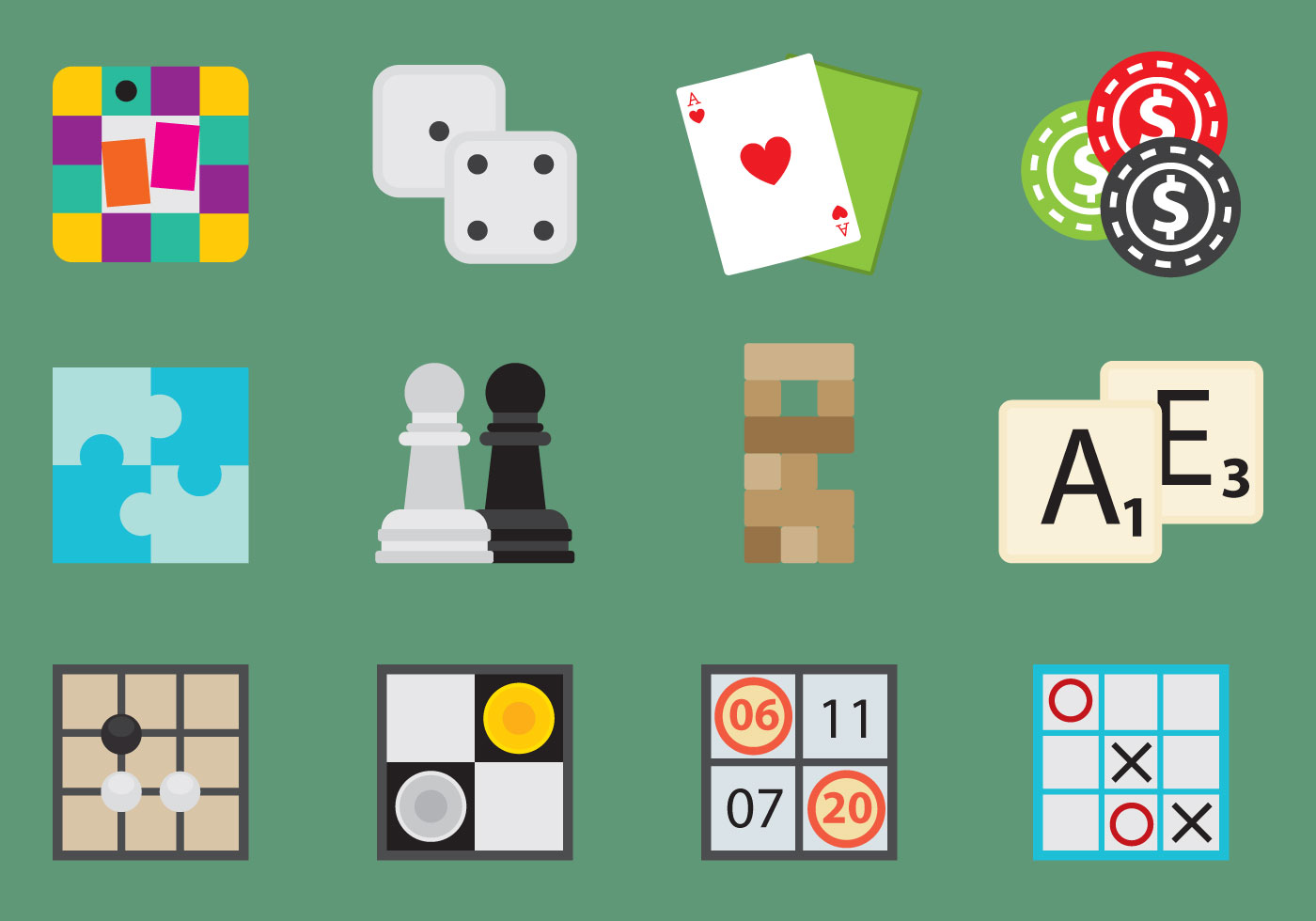 Board Games Icons Download Free Vector Art Stock Graphics Images