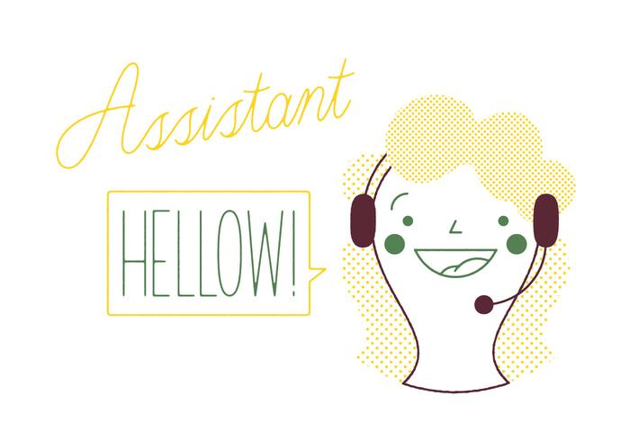 Free Assistant Vector