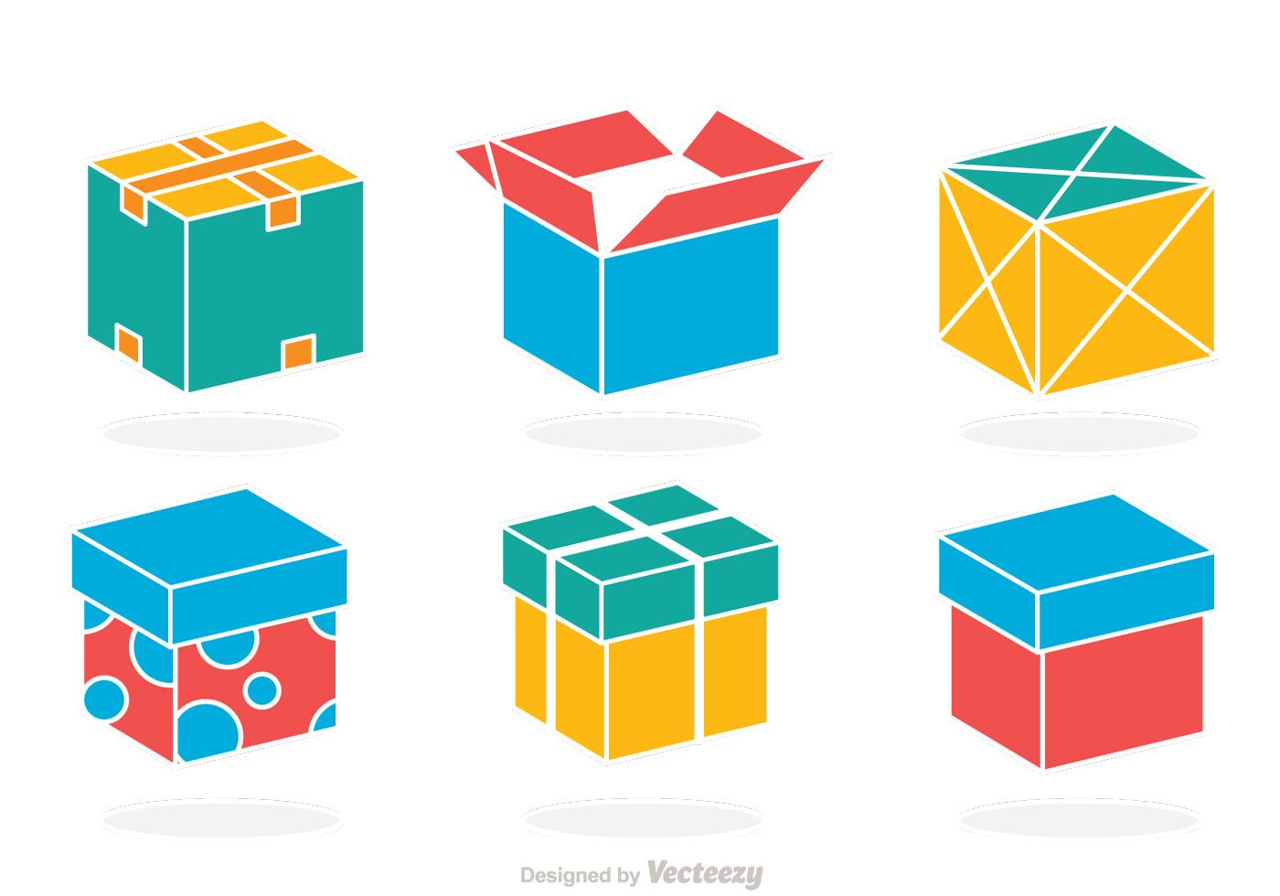 colorful box vector download free vector art stock graphics images rh vecteezy com box vector cranks box vector cranks instructions