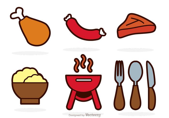 Food Color Vectors
