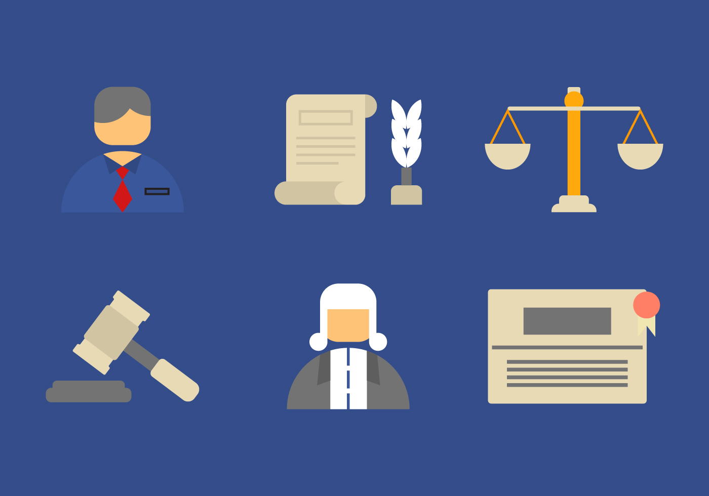 Free Law Office Vector Icons #6 - Download Free Vectors ...
