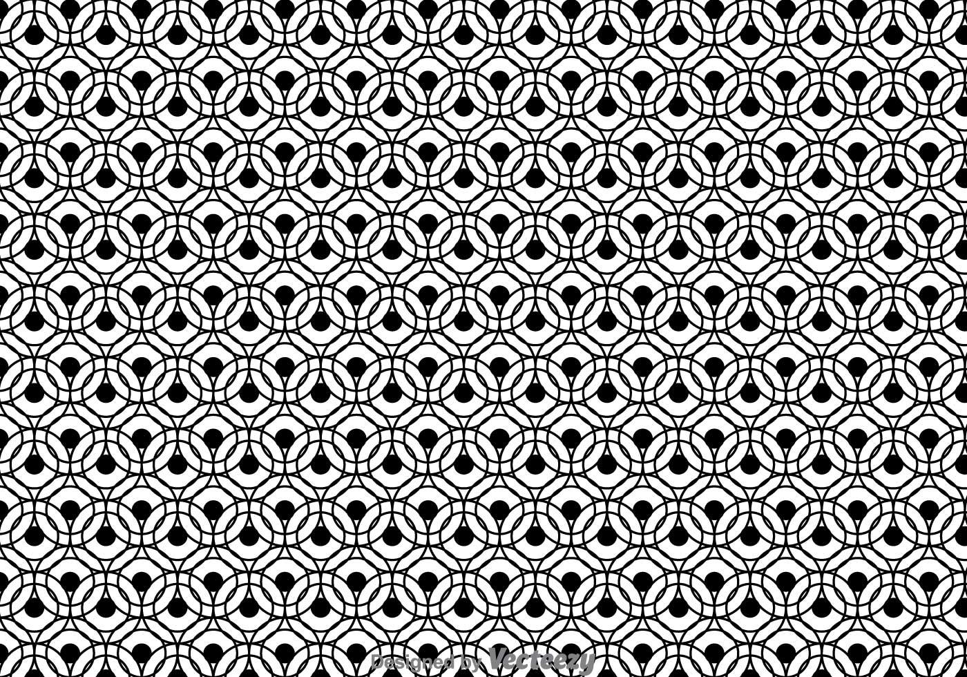 Black And White Circle...