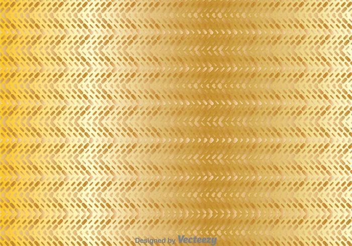 Guld Geometrisk Zig Zag Bakgrund