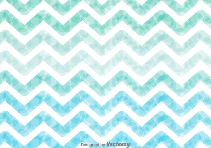 Watercolor Zig Zag Background Vector - Download Free