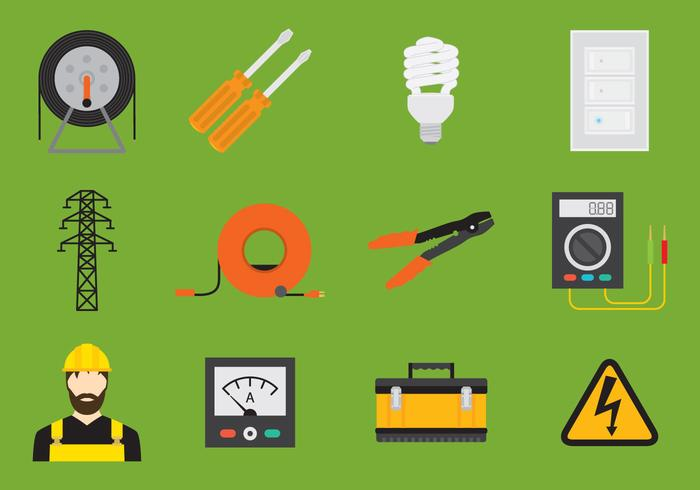 Car Battery Voltage >> Electrician Icon - Download Free Vector Art, Stock Graphics & Images