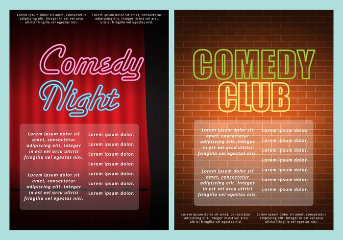 Comedy Club Flyers