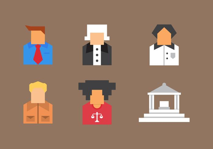 Free Law Office Vector Icons #9