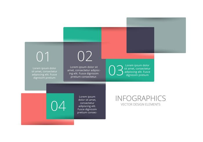 Infographic vector background