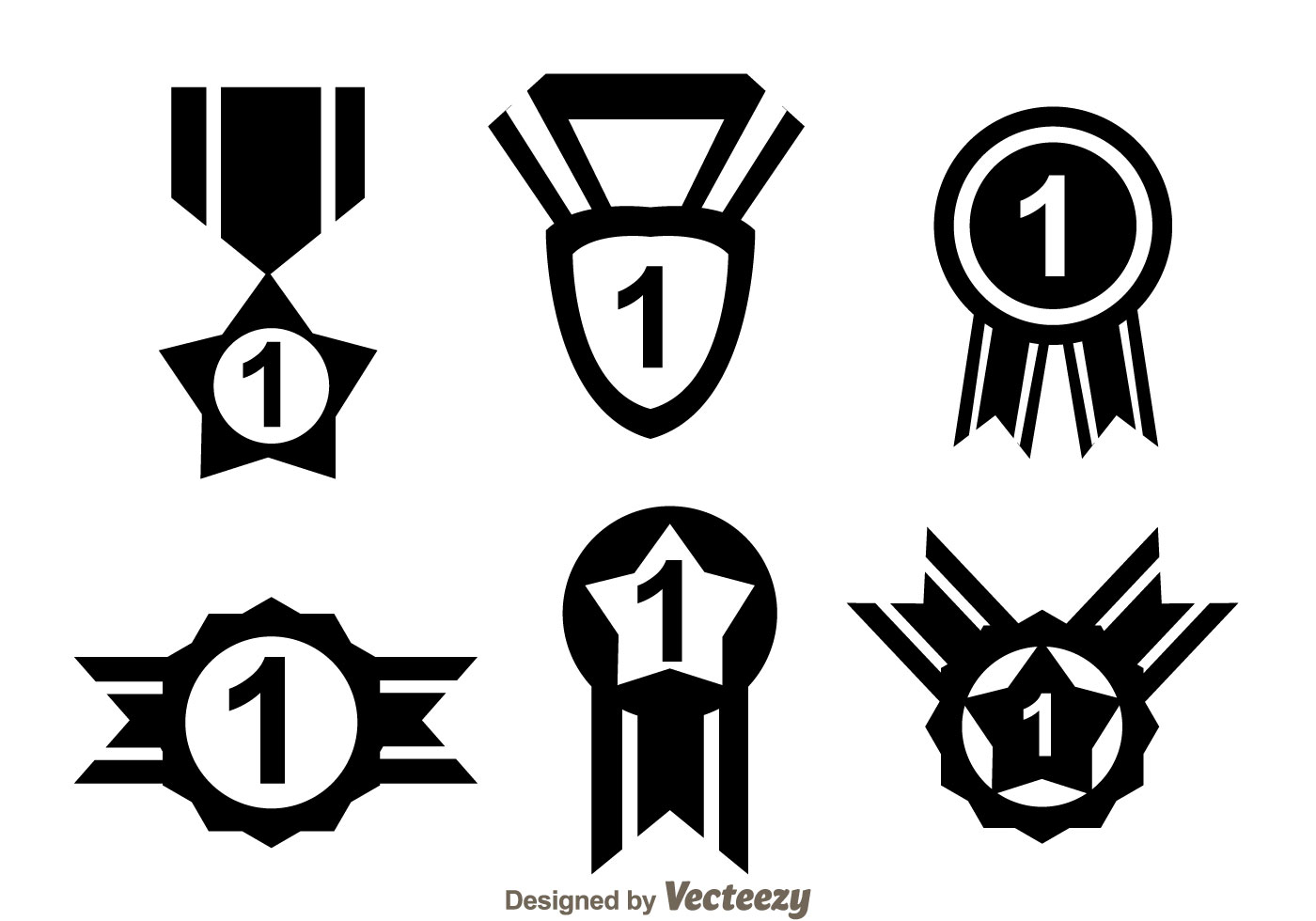 first place ribbon black icons download free vector art
