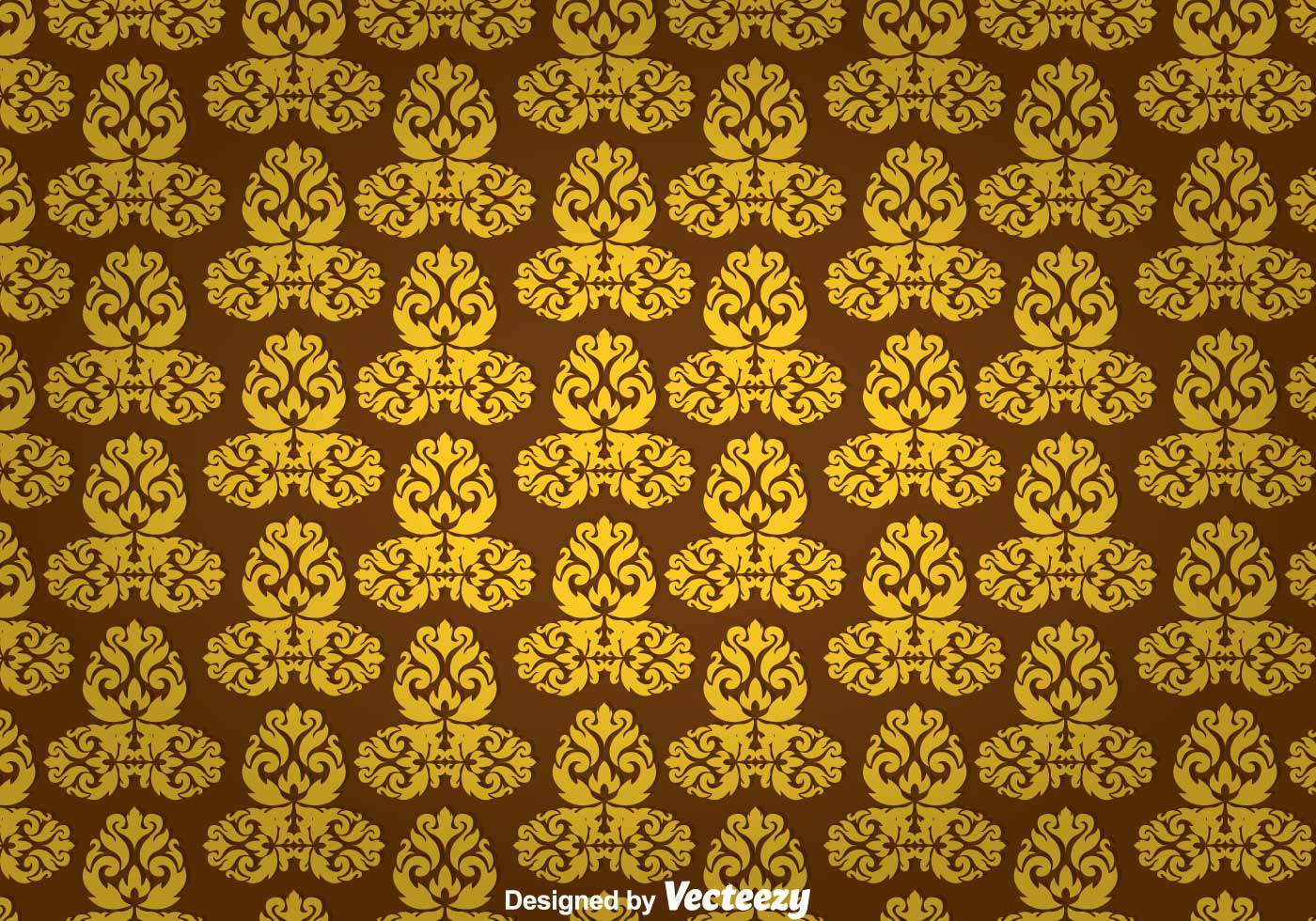 Gold Ornament Wall Tapestry - Download Free Vector Art, Stock ...