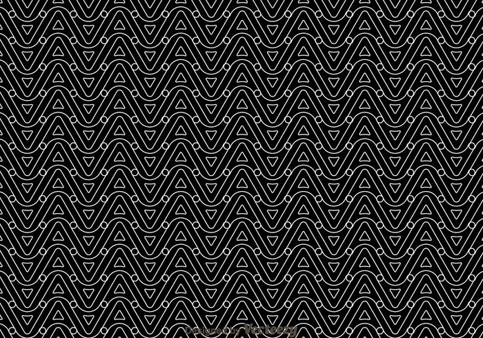 Black And White Wave Pattern Download Free Vector Art Stock
