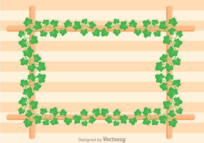 Ivy Vine Frame Vector
