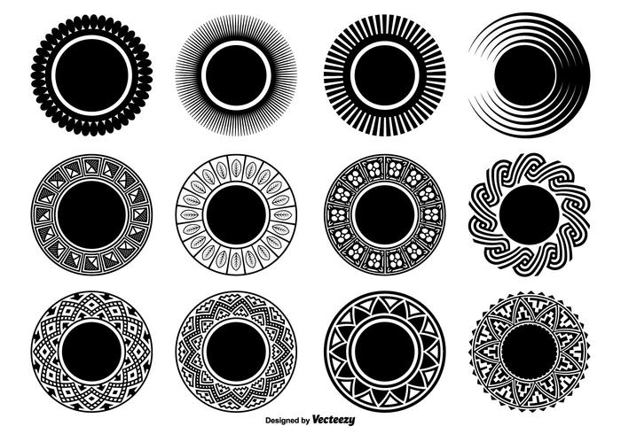Decorative Circle Shapes