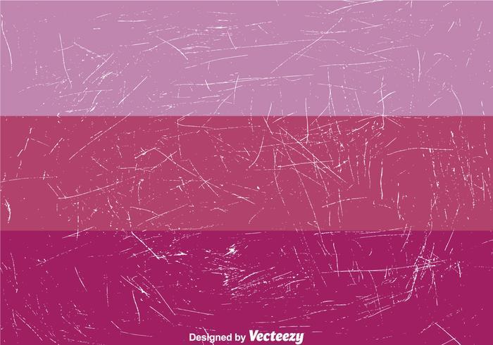 Cracked Paint On Purple